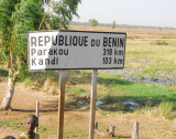 Welcome to the Republic of Benin, arriving from the Niger River bridge
