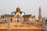 Allada, Benin, is building a giant new church