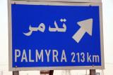 Palmyra 213 km