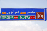 The road to Palmyra is well maintained and well marked, so a driver/guide is unnecessary