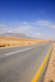 Road through the Syrian desert
