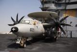 Grumman E-2 Hawkeye on the USS Nimitz