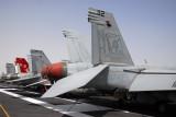 Hornets of VFA-41 on the USS Nimitz