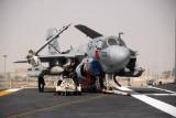 Grumman EA-6B Prowler of VQA-135 Black Ravens on the USS Nimitz