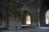 Upper chamber in the Keep of Saladin Castle (Saone)