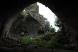 Overgrown ruin, Marqeb Castle