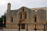 The Alamo-esqe Tartus Cathedral, 12th Century Crusader church