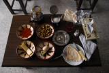 Standard Syrian hotel breakfast, Al-Riad Hotel
