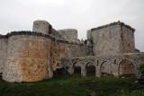 As imposing as it is, the Krak fell to Sultan Baybars in 1271