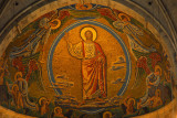 Mosaic of the Resurrection on the apse vault by Joakim Skovgaard 1925-1927