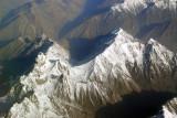 Karakorum Range (36 44N/75 55E) north of Sost, Pakistan