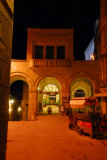 Cassa di Risparnio, San Marino, night