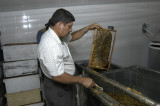 Jose uncapping a frame
