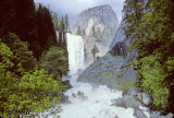 Vernal Falls ithink Yosemite Spring 95 Mist Trail maybe