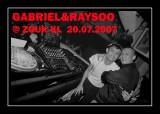 Gabriel & RaySoo @ Zouk KL - 20.07.2007
