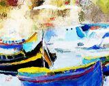 boats 12x9