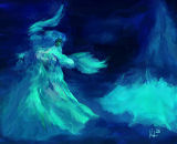 blue dance 8x7