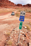 San Juan County Route 142 ends and Federal Route 1694 begins