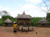 Homestead close to Amadi town