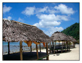 Fales (thatched huts)