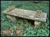 Stoned bench