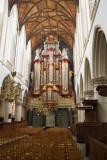 Bavo Church; ship with organ