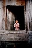 A village Girl in Penanbawan, Sabah
