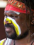 Aboriginal didge player