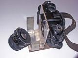 A Digital View Camera Using The Maxxum 7D and Scheimpflug Principle