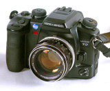 58mm f/1.4 Rokkor Adapted to Minolta Maxxum Sony Alpha AF Mount
