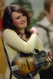 Raven Welch and her bluegrass band