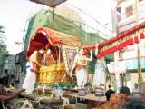 Thiruvallikeni Vijaya Varuda Brahmothsavam - Day 9 Morning Aal Mel Pallakku