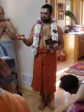 Sri Chinna Jeeyar Swamiji Teertha Gosti.JPG