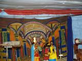 Drama on thirumangai azhwar performed by Selaiyur Patasala students