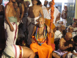 Swamiji Blessing Devotees