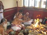 Srikaryam Sri Anantharangachar Swami Doing Homam
