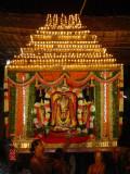 Aayanar at Thiruvahindrapuram Indra Vimanam Purapadu