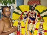 Sri Neelavarna Perumal after alankaram by Madhavan Battachar Swamy.JPG