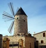 Majorca windmill