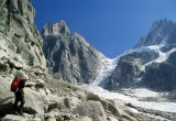 Nantillons glacier Mont Blanc