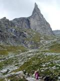 La Berard Aguille Dibona from below