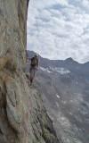 Ag. Dibona traverse on the Beulle ledges