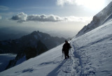 On the descent from the Barre de Ecrins