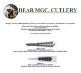 Bear MGC. Cutlery