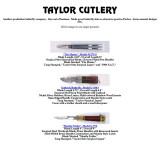 Taylor Cutlery