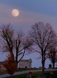 Frosty Moon