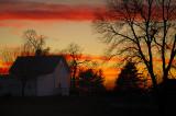 Sunset over Hundley Street