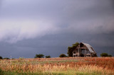 Storm Clouds with Barn