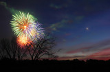 Fireworks -  Regulus - Venus - Saturn