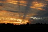 Sunrise Crepuscular Rays